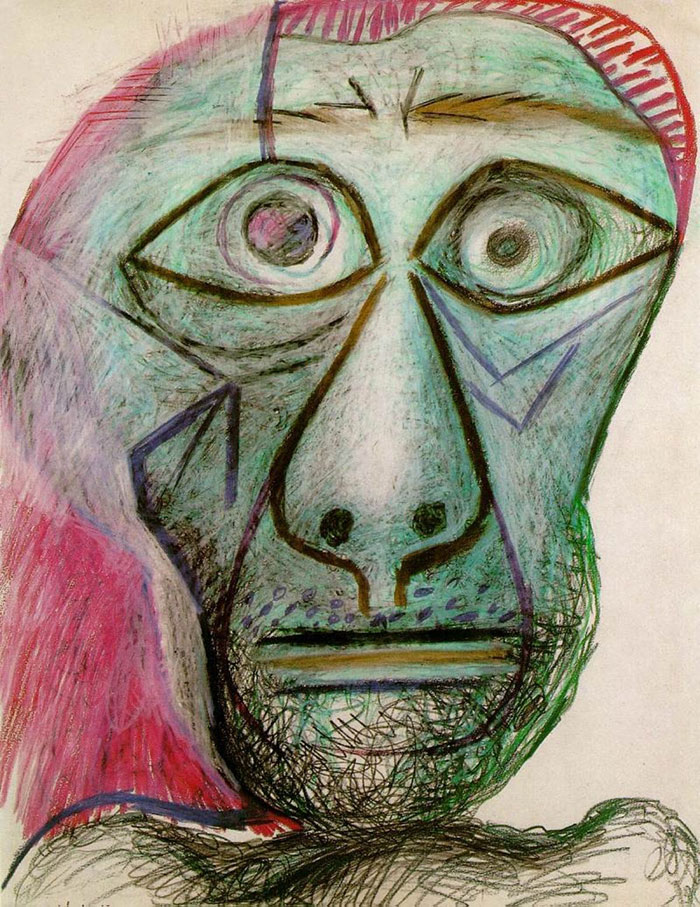 painting-self-portrait-style-evolution-pablo-picasso-4