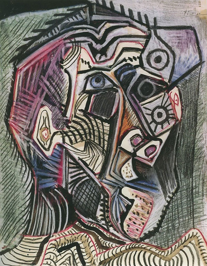 painting-self-portrait-style-evolution-pablo-picasso-5