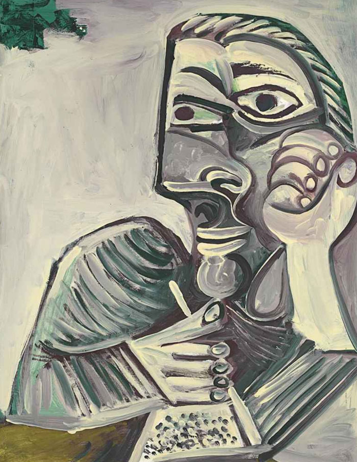 painting-self-portrait-style-evolution-pablo-picasso-8