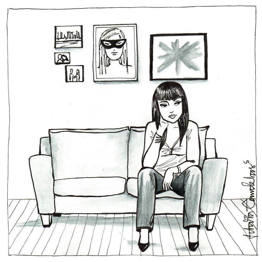 single-woman-drawings-alone-postmodern-loneliness-idalia-candelas-6