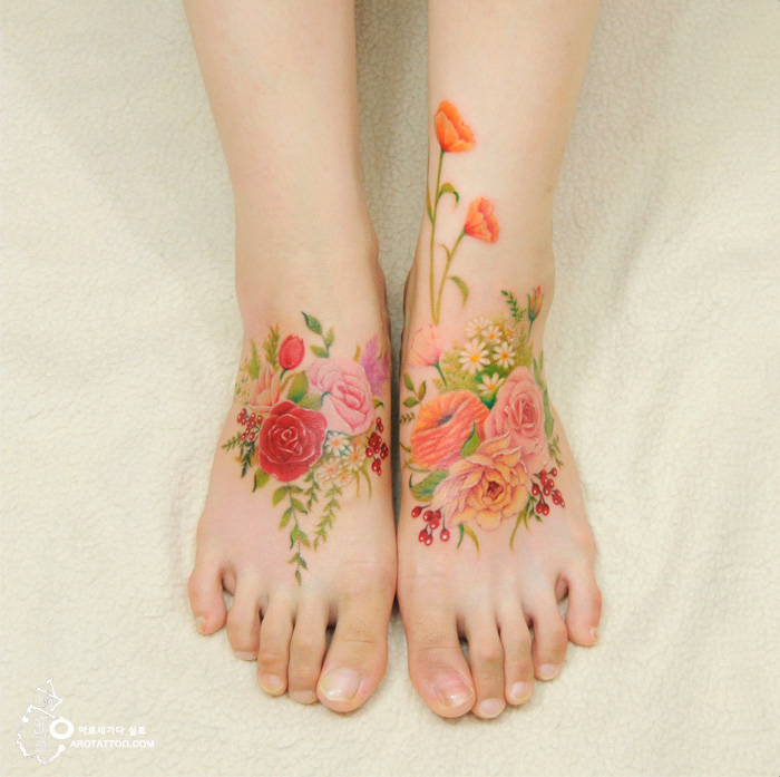 watercolor-painting-tattoo-on-skin-11