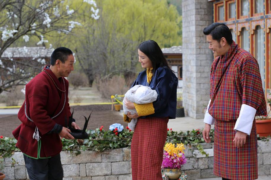 birth-new-prince-celebrated-planting-thousands-trees-bhutan-1