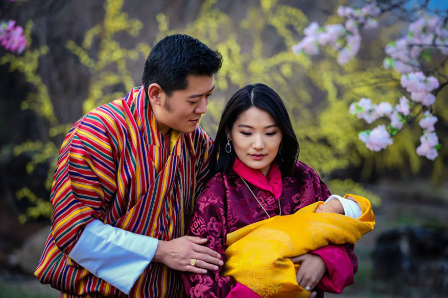 birth-new-prince-celebrated-planting-thousands-trees-bhutan-7