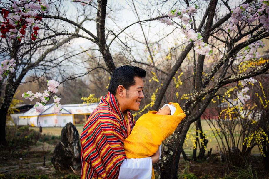 birth-new-prince-celebrated-planting-thousands-trees-bhutan-8