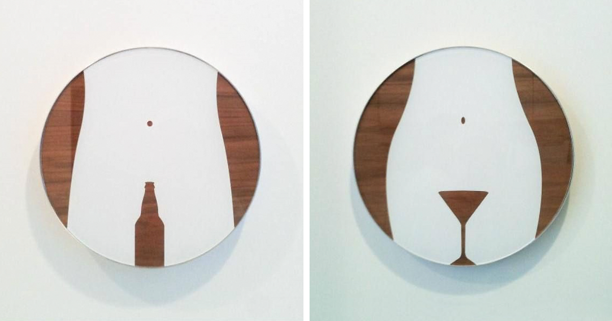 20 Most Creative Bathroom Sign Designs Demilked