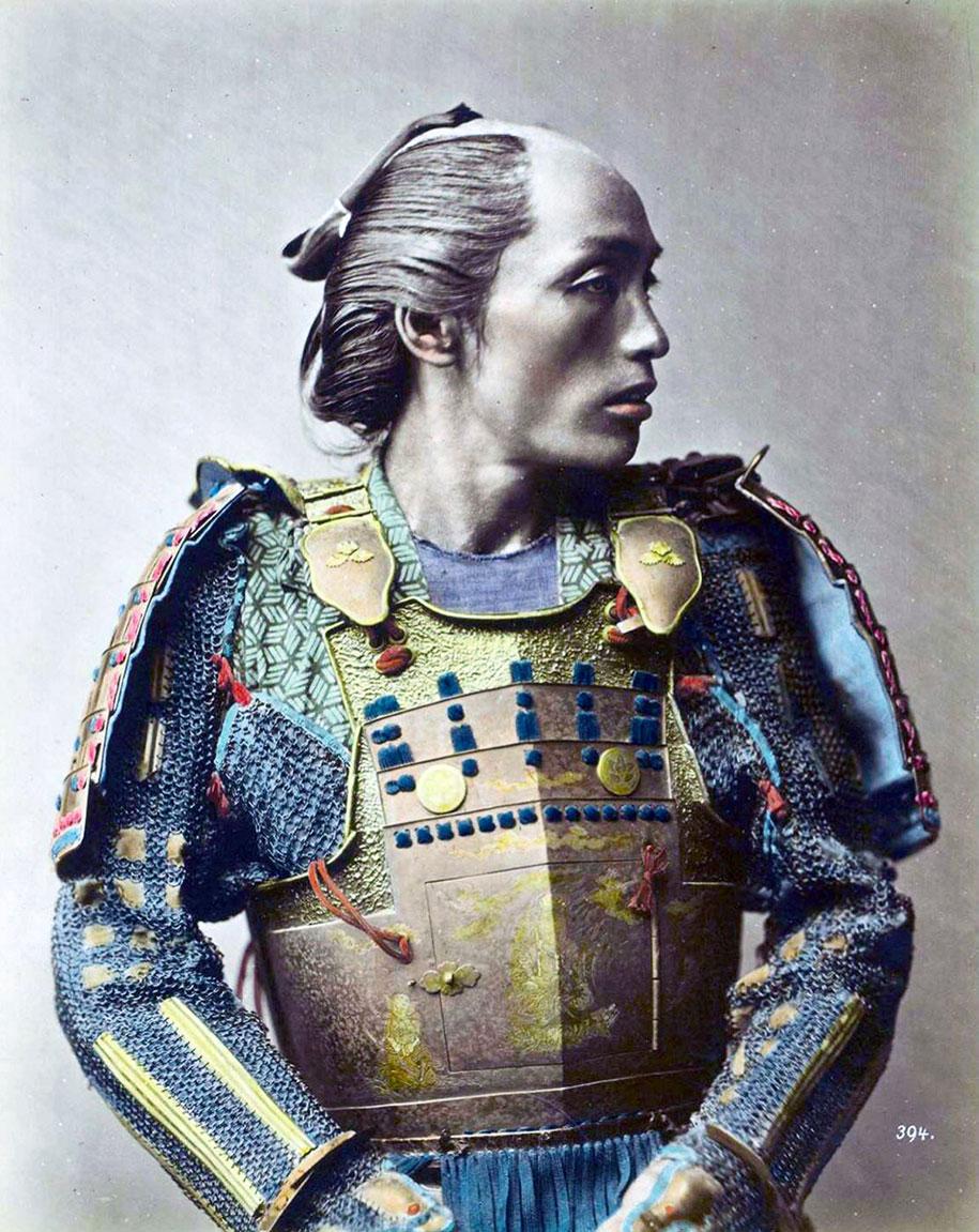 The Last Samurai Rare Colored Photos Of Last Japanese Samurai In The 1800s Demilked