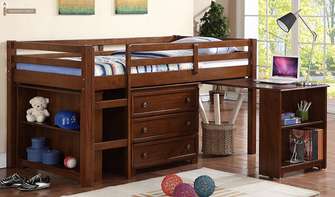 Multi-utility Bunk Beds for Kids