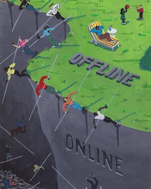 addiction-to-social-media-illustrations-brecht-vandenbroucke-21