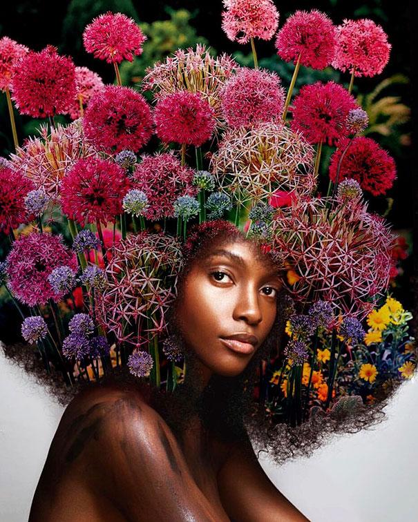 flower-galaxy-stars-afro-hairstyle-black-girl-magic-pierre-jean-louis-10