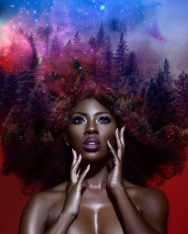 flower-galaxy-stars-afro-hairstyle-black-girl-magic-pierre-jean-louis-6