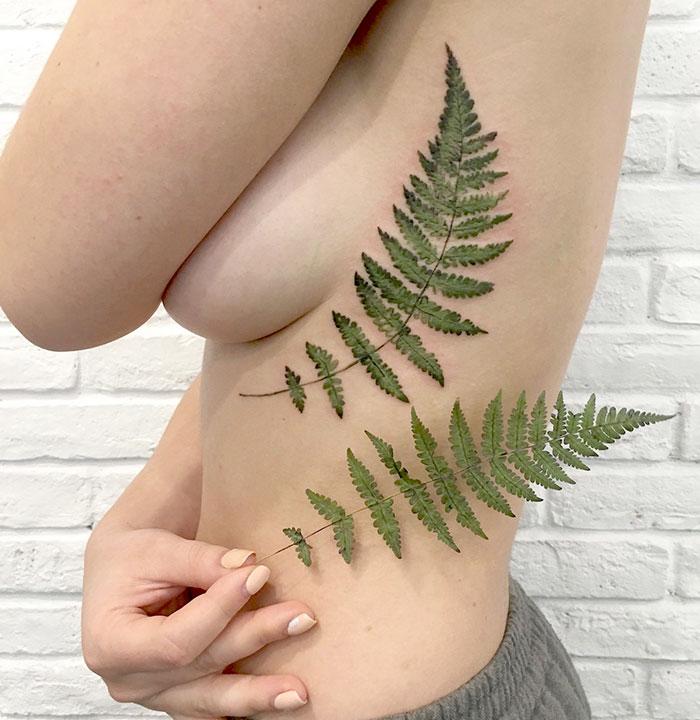 natural-tattoos-leaves-inprints-rit-kit-rita-zolotukhina-ukraine-4