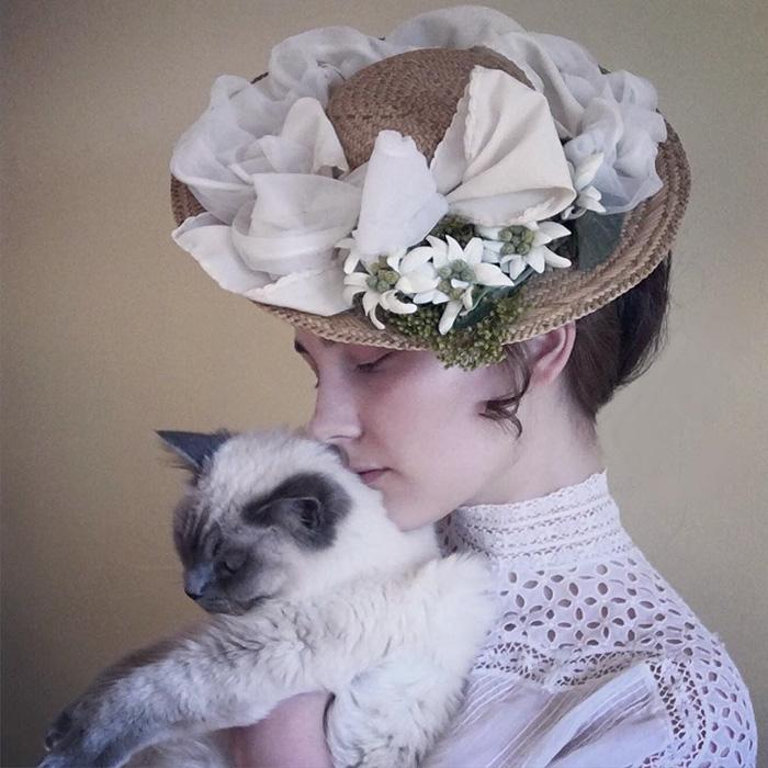 teenager-recreates-vintage-retro-look-bewitchedquills-annelies-maria-francine-5
