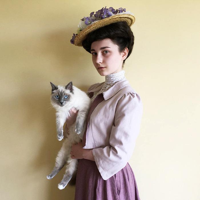 teenager-recreates-vintage-retro-look-bewitchedquills-annelies-maria-francine-7