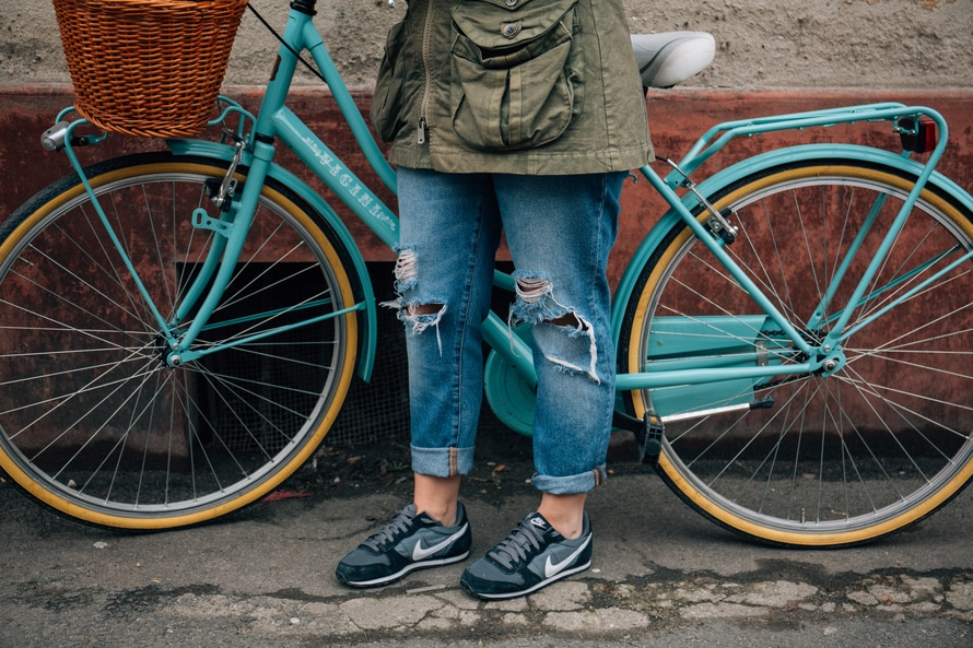 Old jeans style