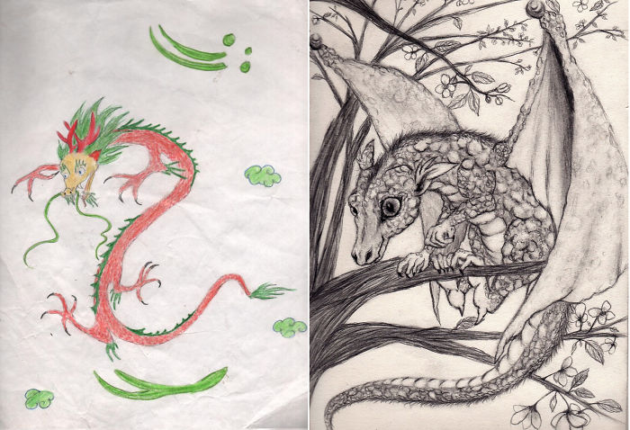 before-after-drawings-drawing-artist-progress-1