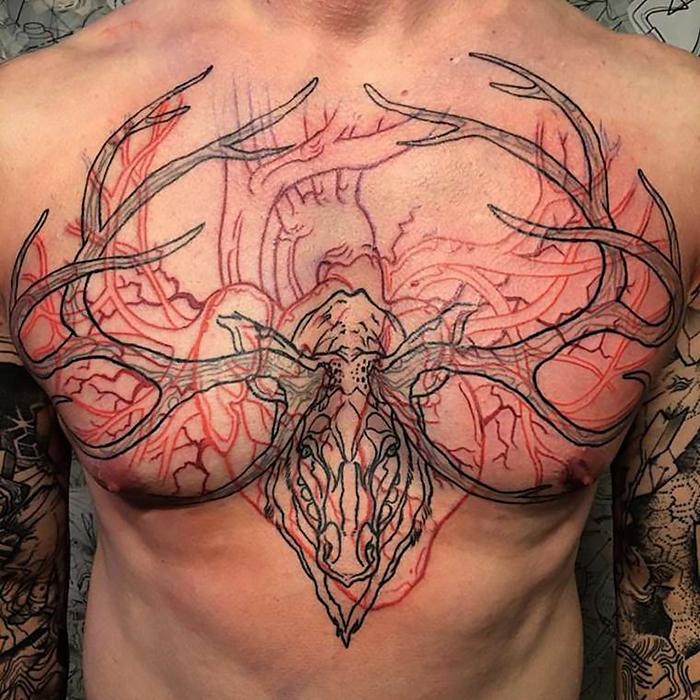 girls-animals-tattoo-outline-pablo-puentes-10