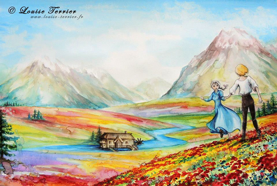 hayao-miyazaki-paintings-studio-ghibli-fan-art-louise-terrier-6