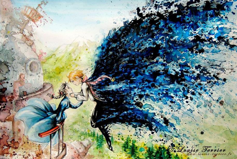 hayao-miyazaki-paintings-studio-ghibli-fan-art-louise-terrier-7