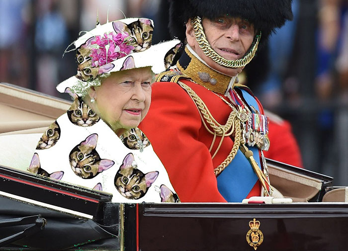 queen-elizabeth-green-screen-dress-funny-photoshop-battle-7
