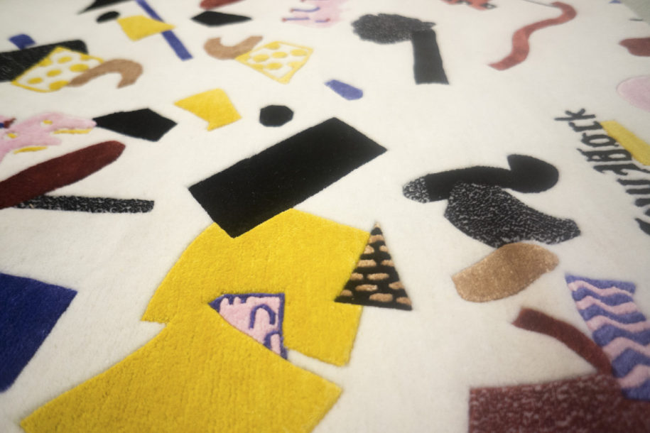 Which we helped them turn into beautiful hand-made rugs
