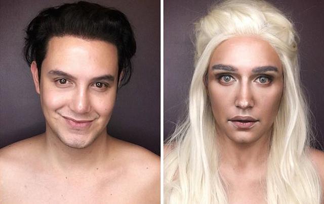 Becomes woman man 'Human Ken