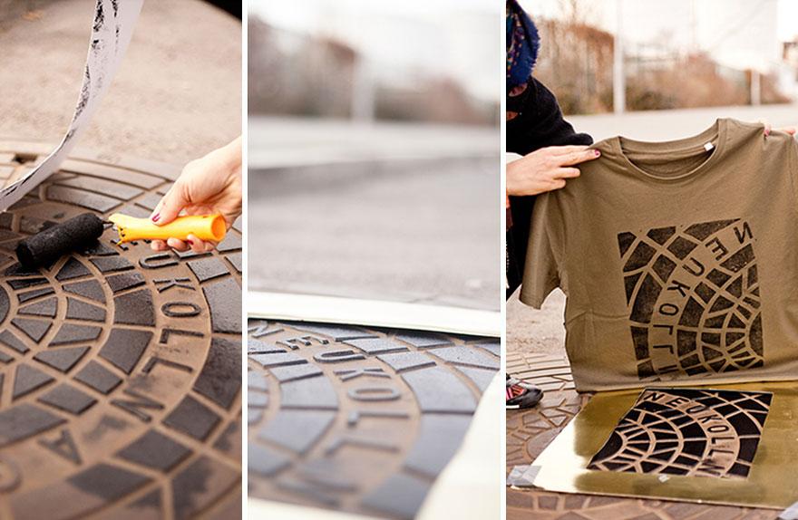 pirate-printers-manhole-cover-tshirt-paint-raubdruckerin-9
