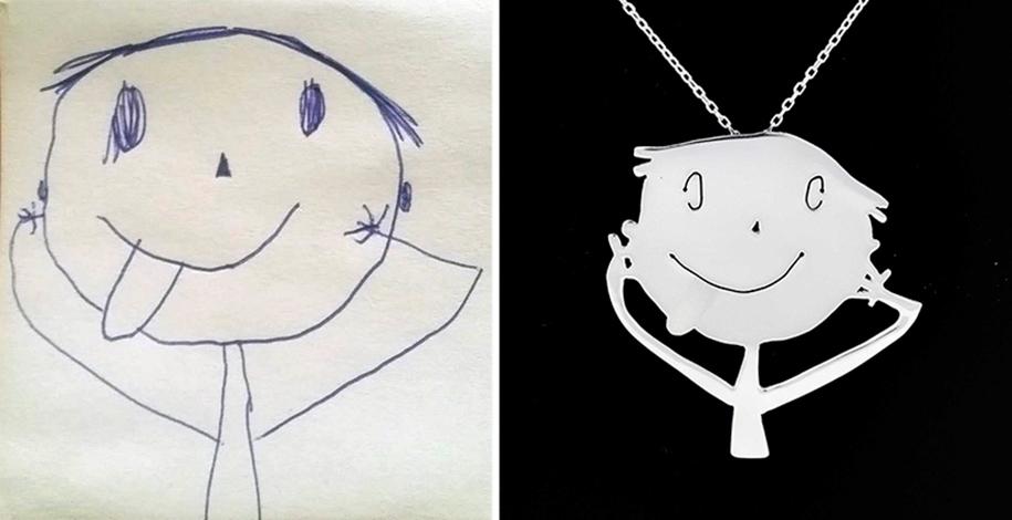 artists-turn-children-doodles-into-jewelry-yasemin-erdin-ozgur-karavit-16