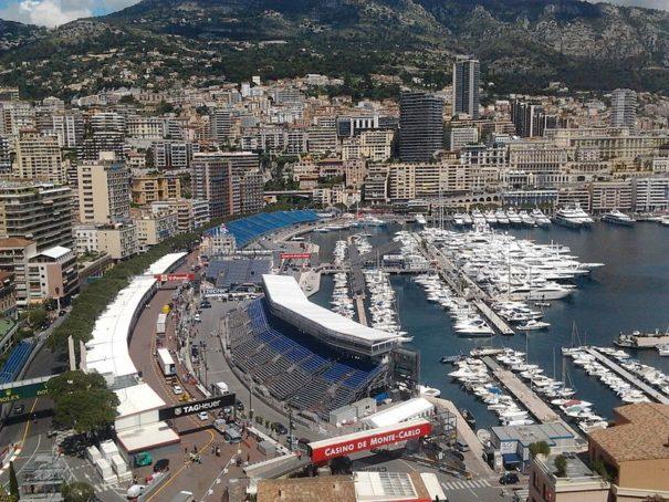 Part of the Monaco F1 Circuit