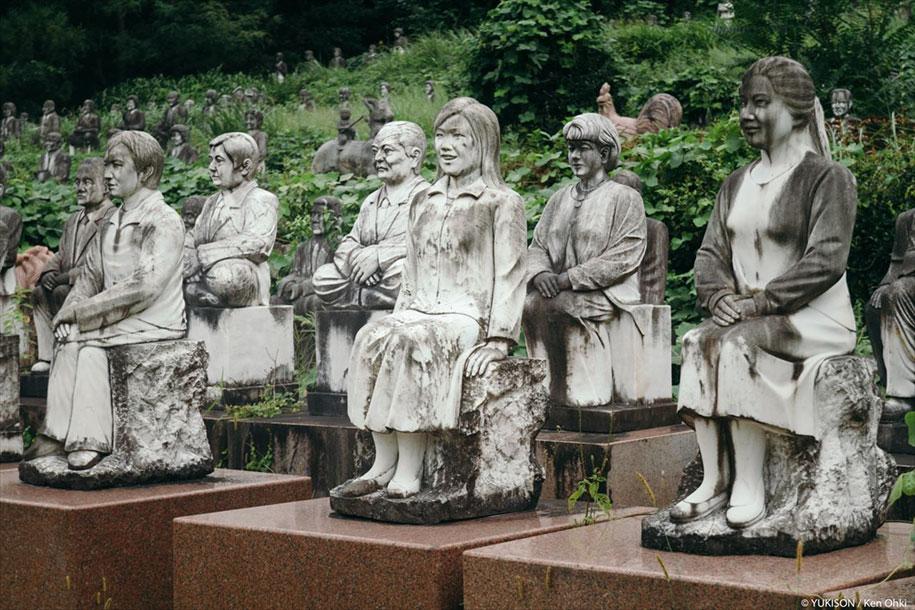 creepy-statues-forbidden-forest-japan-yukisons-ken-ohki-10