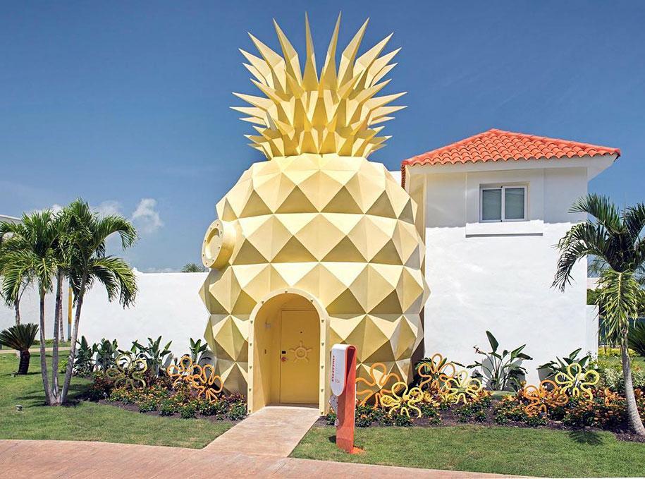 spongebob-squarepants-pineapple-hotel-nickelodeon-resort-punta-cana-22