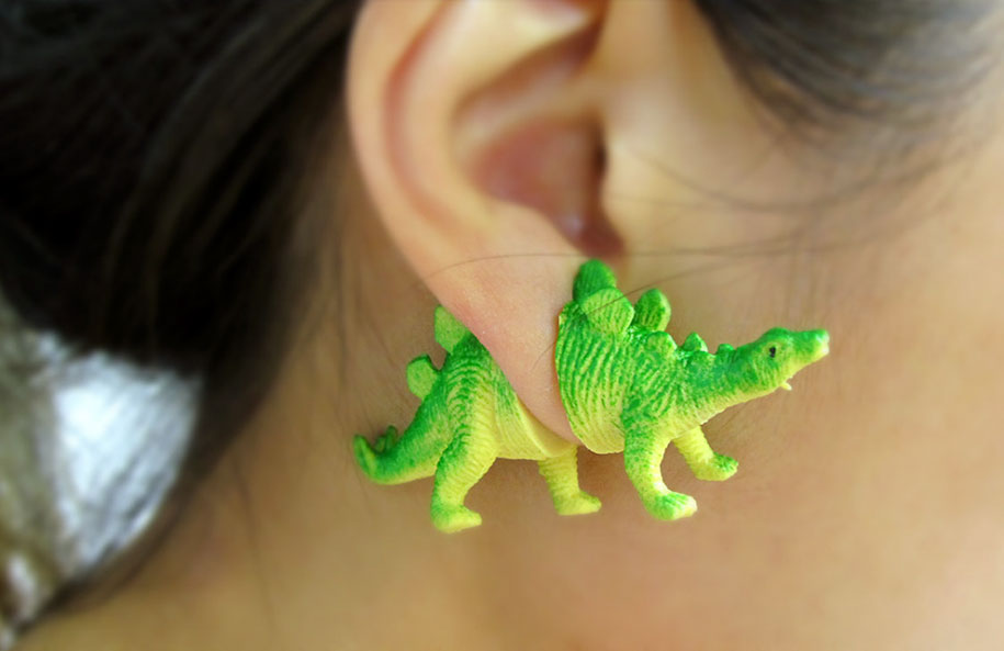dinosaur-earrings-oooworkshop-1