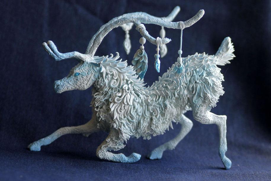 fantasy-animal-sculptures-demiurgus-dreams-evgeny-hontor-5
