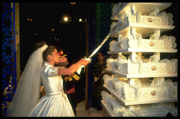 MARRIAGE OF PRINCE ABDALLAH OF JORDAN IN AMMAN June 10, 1993