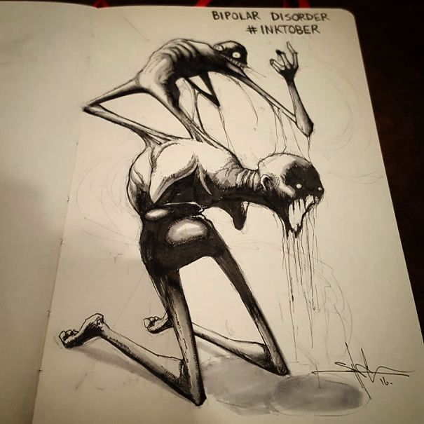 mental-illness-disorders-illustrations-inktober-shawn-coss4