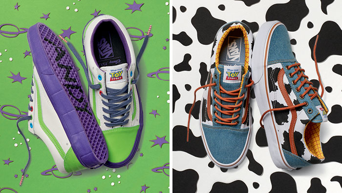 Alarmante válvula petróleo  Toy Story Shoes Released By Vans And Pixar | DeMilked