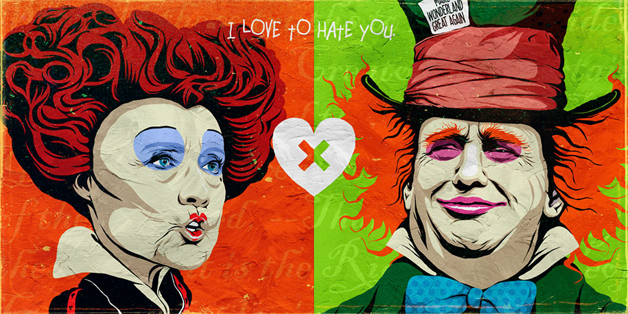 trump-clinton-pop-characters-i-love-to-hate-you-butcher-billy-3