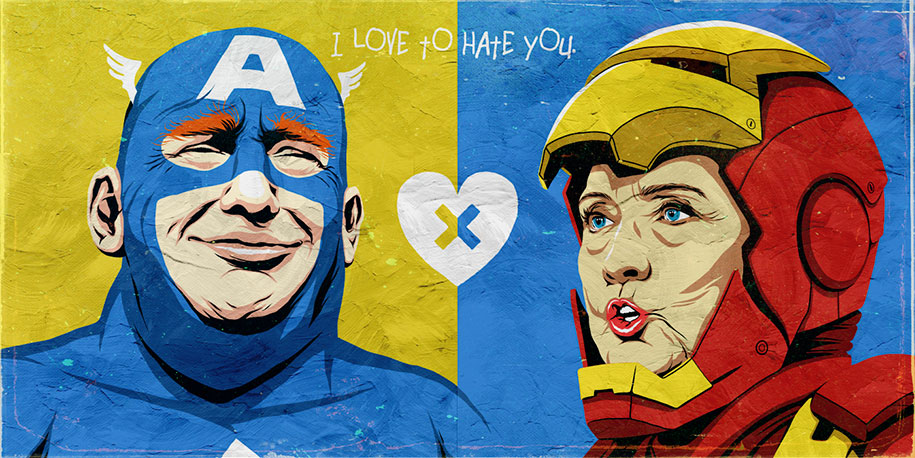 trump-clinton-pop-characters-i-love-to-hate-you-butcher-billy-8
