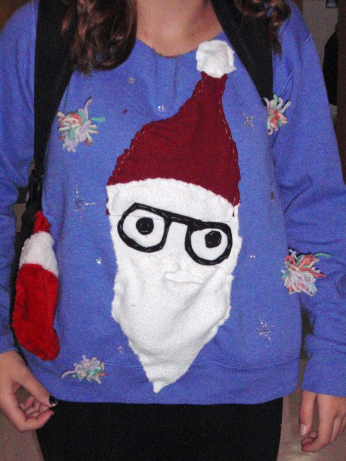 A Really White Santa Claus