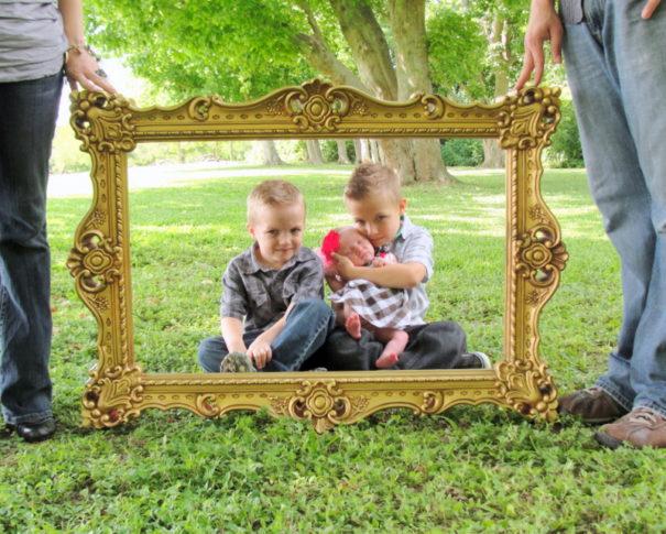 #1 Big artistic picture frame