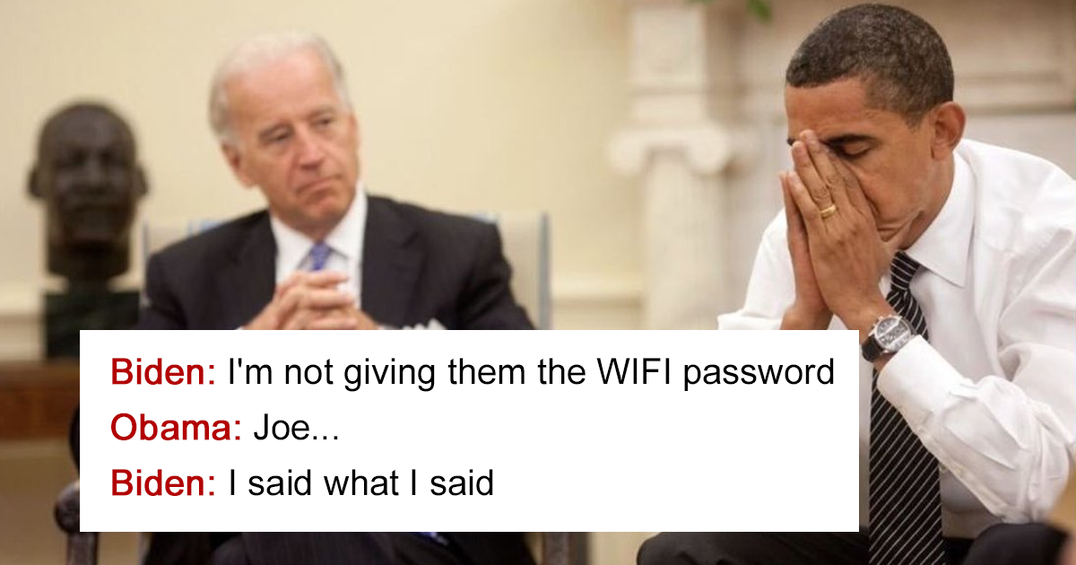 10 Hilariously Creative Tweets Between Obama And Biden Are What You Need After This Election Demilked