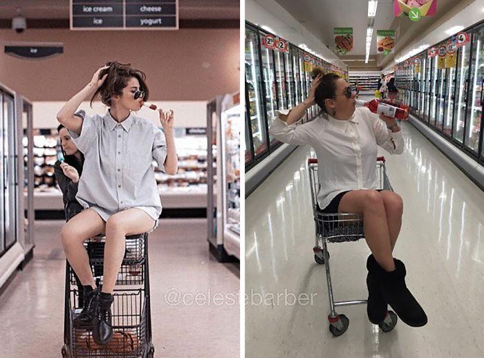 funny-celebrity-instagram-photos-recreated-celeste-barber-12