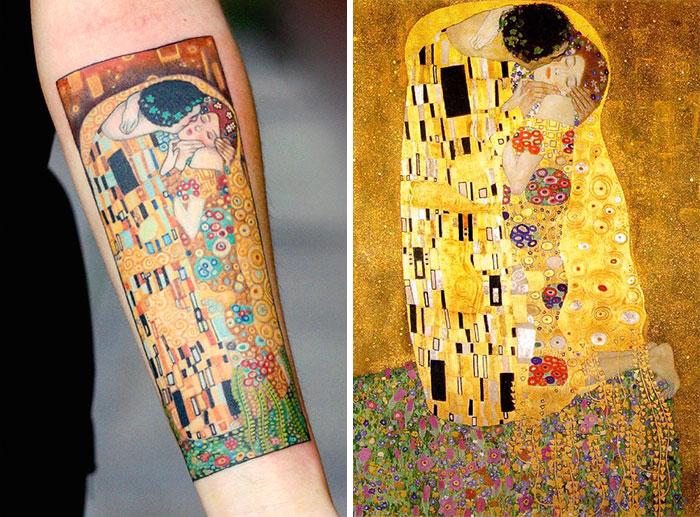 artistic-tattoos-gustav-klimt-6