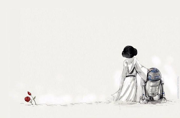 artists-trubute-carrie-fisher-princess-leia-star-wars-1