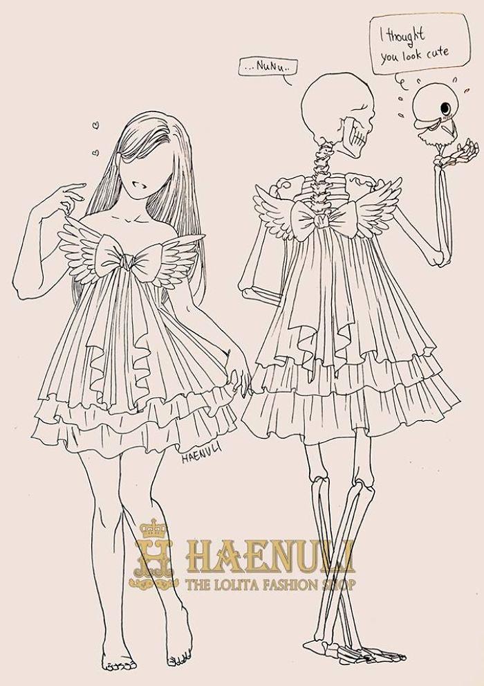 depression-death-skeleton-drawings-haenuli-shin-15