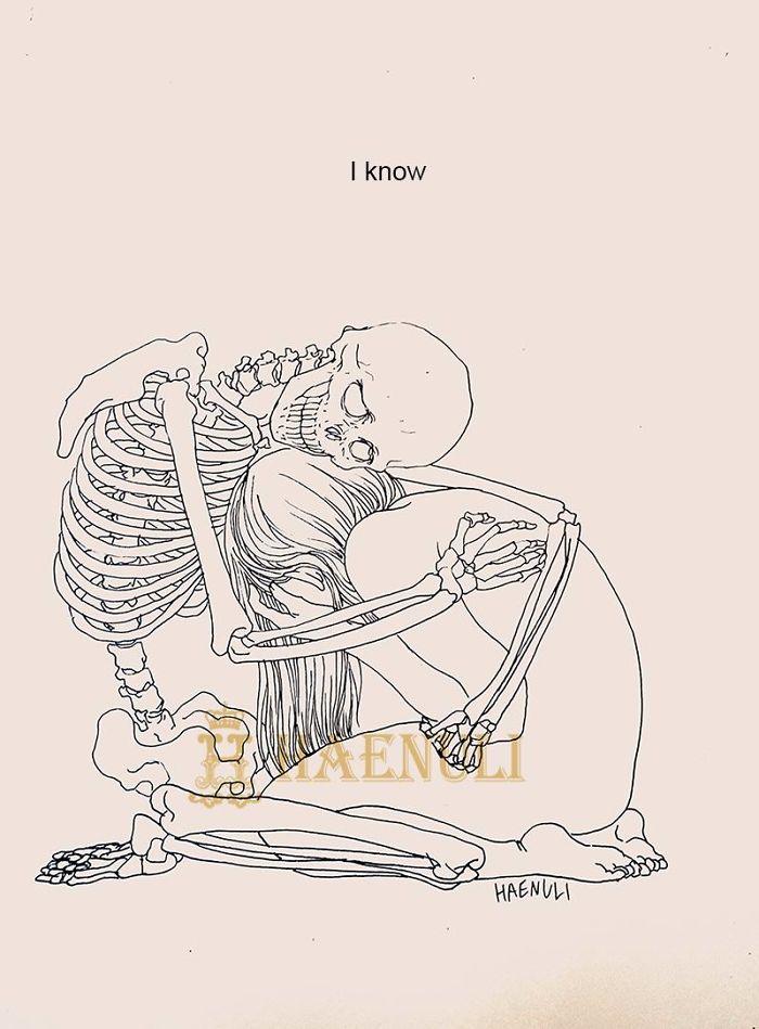 depression-death-skeleton-drawings-haenuli-shin-9