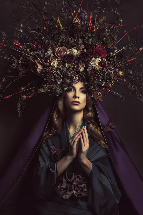 Lady of Herbs and Flowers