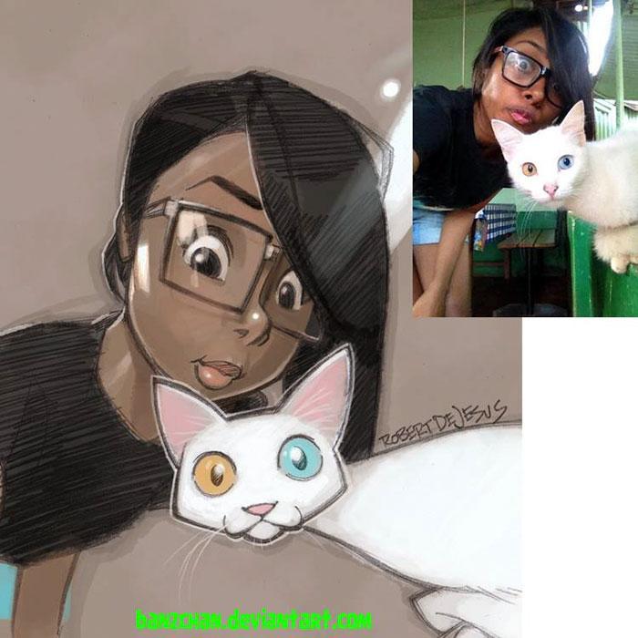 people-pets-turned-cartoons-anime-banzchan-robert-dejesus-1