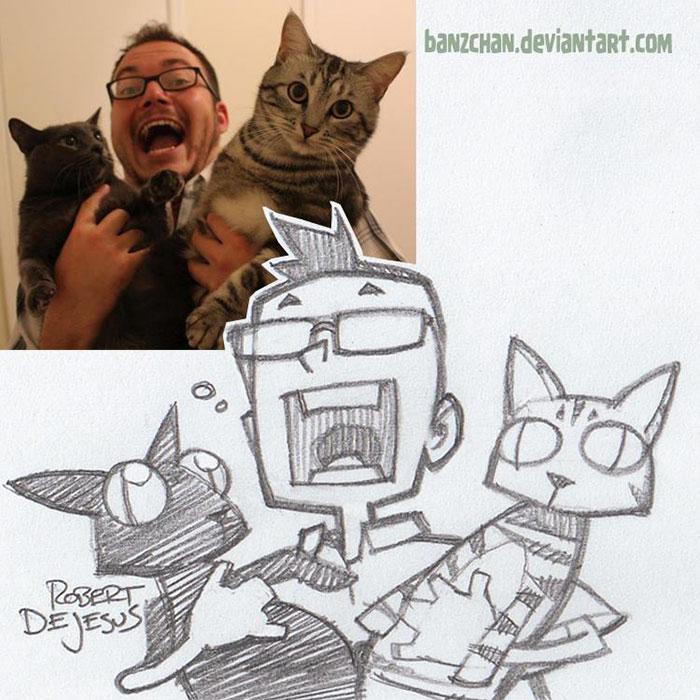 people-pets-turned-cartoons-anime-banzchan-robert-dejesus-3