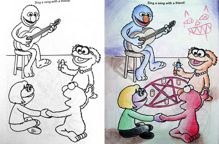 - 48 Reasons Why You Should Never Give Children's Coloring Books To Adults  DeMilked