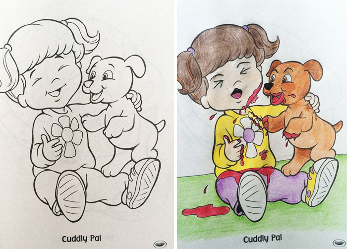 48 Reasons Why You Should Never Give Children's Coloring Books To Adults  DeMilked